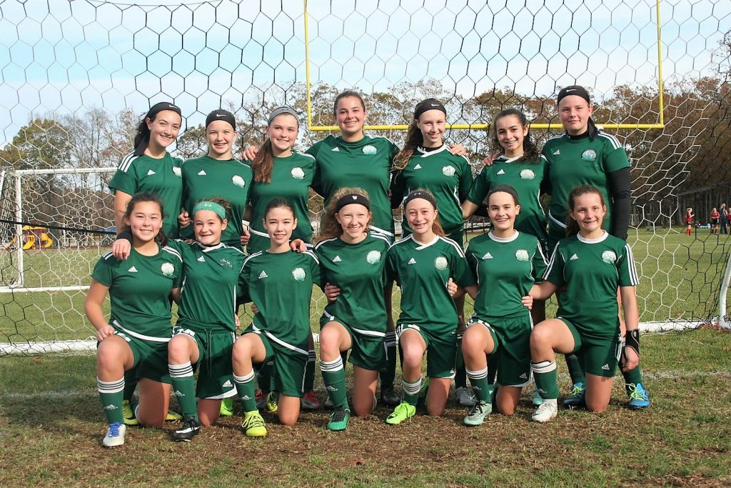 6d11e07d8 The Upper Township Cyclones U-15 girls soccer team recently won the South  Jersey Youth Soccer League fall championship. Pictured are (from left)  top  row ...